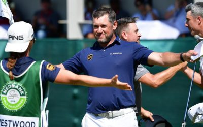 Lee Westwood gets his hat-trick at Sun City